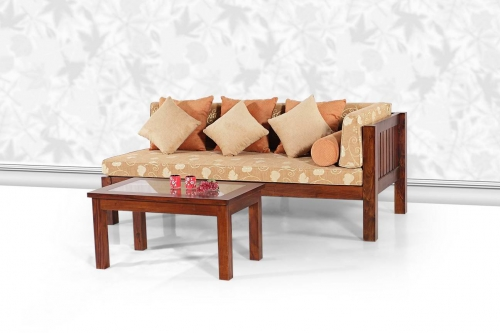 Teak Wood Daybed Teak Day Bed Living Room Furniture Perabot Jati In Kl