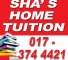 Sha's Home Tuition
