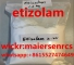 Etizolam Powder Etizolam Powder China Etizolam Powder Vendor